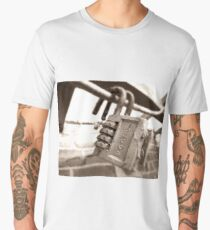 Twins - Urban Exploration Photography Men's Premium T-Shirt