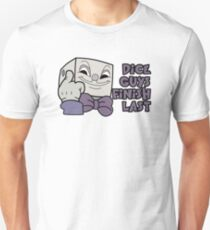 Dice Guys Finish Last - Cuphead Unisex T-Shirt