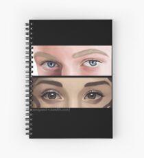 Dramione. Eyes. Spiral Notebook