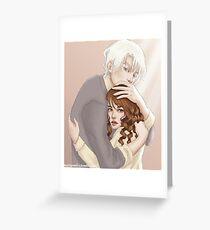 Dramione. Hug. Greeting Card