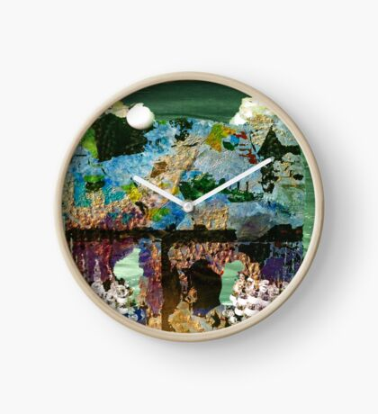 The World is Yours Clock