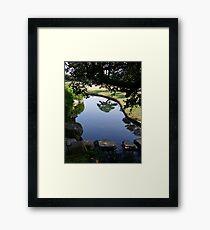 Okayama Korakuen Garden Reflection Framed Print