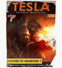 Tesla : Future of Warfare ? Fallout 4 Poster  Poster