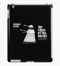 The Curse of the Daleks - theatre programme iPad Case/Skin