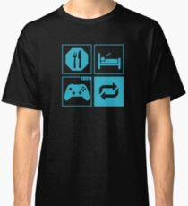 Eat, Sleep, Game, Repeat. Classic T-Shirt