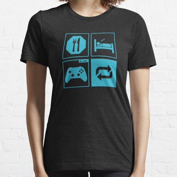 Eat, Sleep, Game, Repeat. Essential T-Shirt