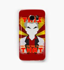 "Pokemon - Professor Oak: ""This isn't the time to use that!"" Samsung Galaxy Case/Skin"