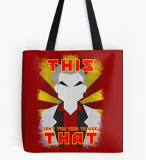 """Pokemon - Professor Oak: """"This isn't the time to use that!"""" Tote Bag"""