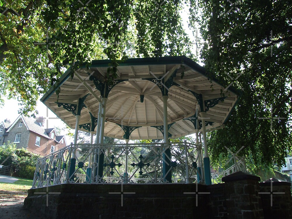 Guildford Bandstand by Paul Revans