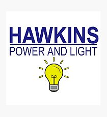 HAWKINS POWER & LIGHT Photographic Print