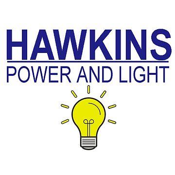 HAWKINS POWER & LIGHT by powerdinoninja