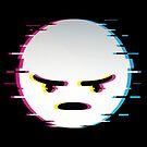 emoji, flat icon_angry by nickmanofredda