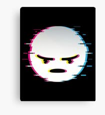 flat icon_angry Canvas Print