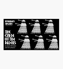 The Curse of the Daleks Photographic Print