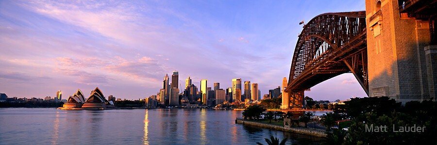 Sensational Sydney by Matt  Lauder