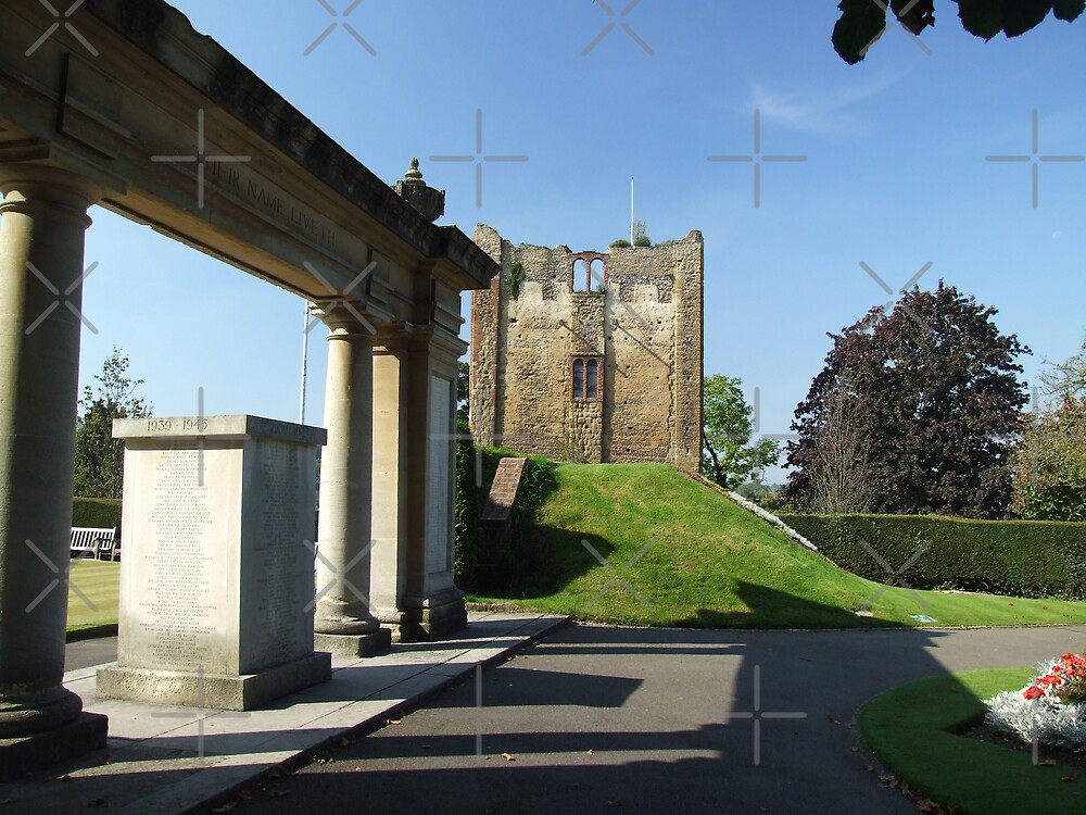 Guildford Castle Tower by EventHorizon