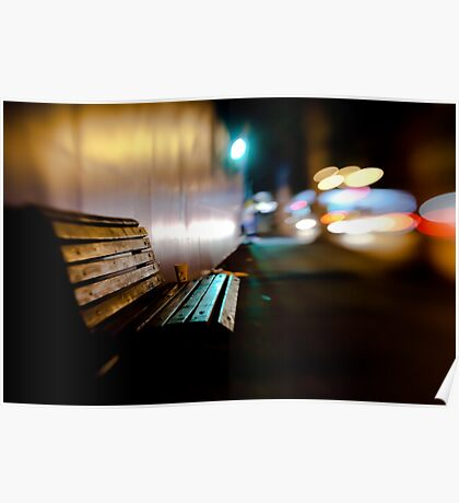 bench@night Poster