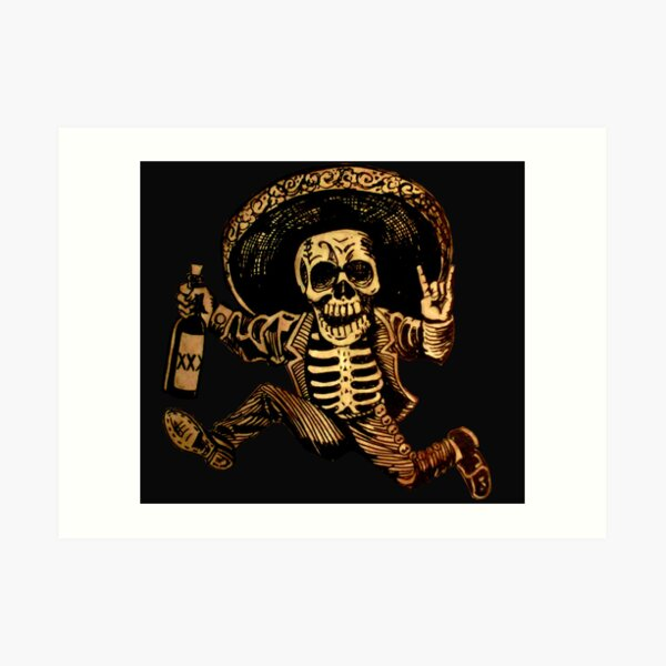 Day of the Dead Posada Art Print
