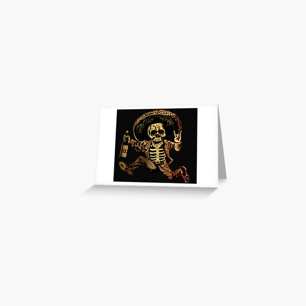 Day of the Dead Posada Greeting Card