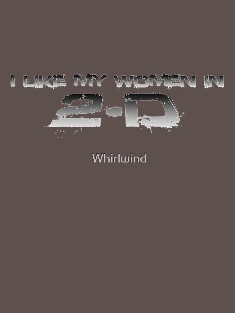 I like my women in 2-D by Whirlwind