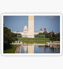 Washington DC National Mall Sticker