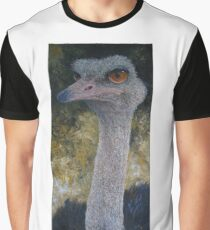 Ostrich (Struthio camelus) Graphic T-Shirt