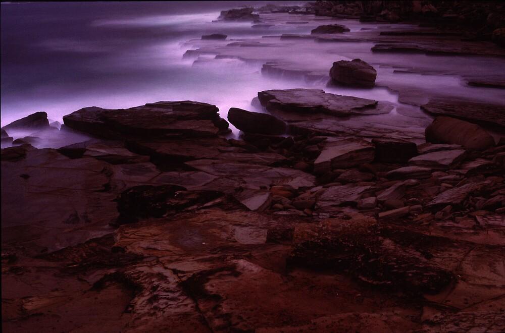 Rockshelf Dusk by John Brumfield