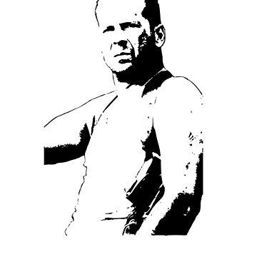 Bruce Willis - Die Hard by marcof1