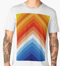 Blue and orange art Men's Premium T-Shirt