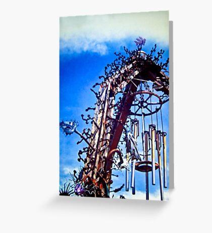 gateway sculpture Greeting Card