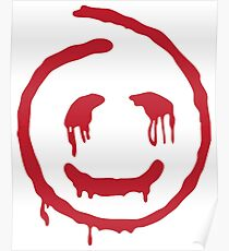 Red John smiley Poster