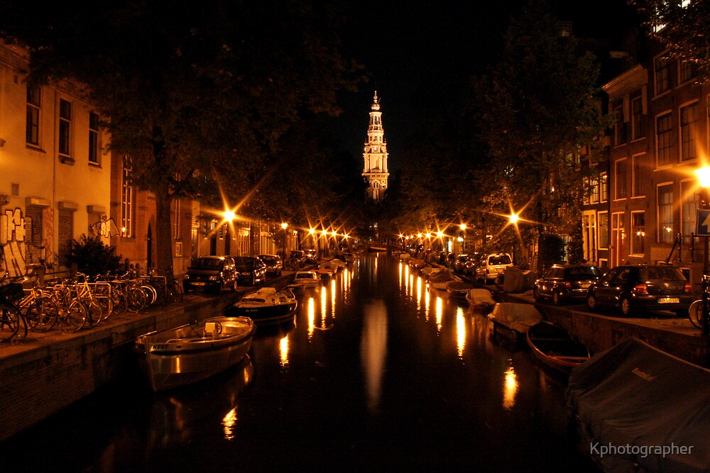 Amsterdam at Night by Kphotographer