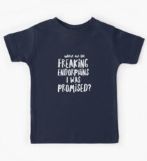 Where are the Freaking Endorphins I Was Promised - Funny Sarcastic Workout Kids Clothes