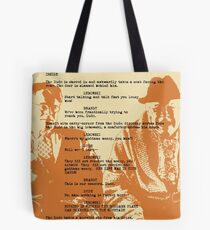 into the mountain Tote Bag
