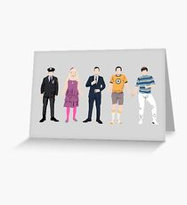The Many Faces of Jimmy Fallon Greeting Card