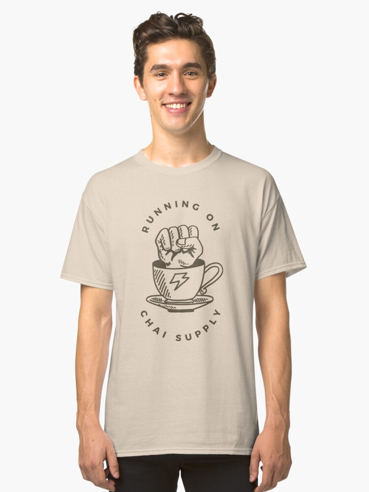 Chai Supply Classic T-Shirt Front