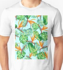 Tropical pattern T-Shirt
