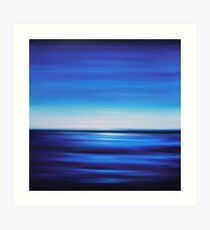 Perfect Blue Art Print