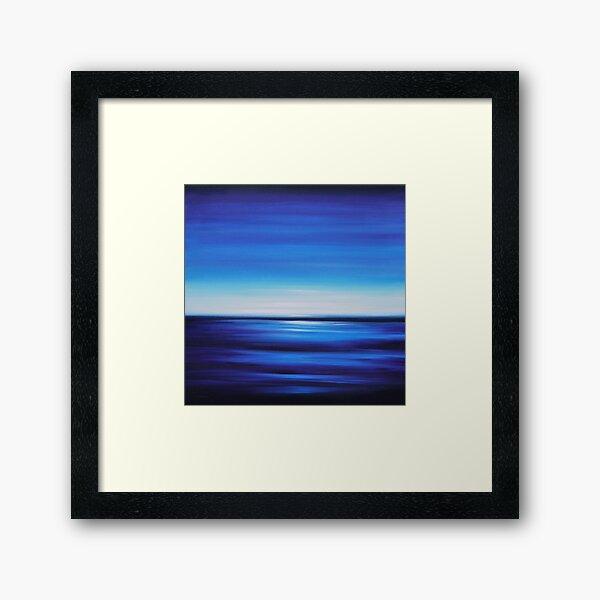 Perfect Blue Framed Art Print