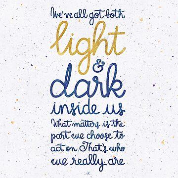Light and dark inside us by earthlightened