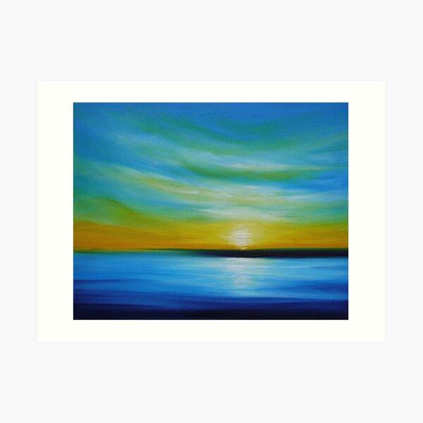 Into a Distant Ocean Art Print