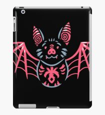 Cute vampire bat character iPad Case/Skin