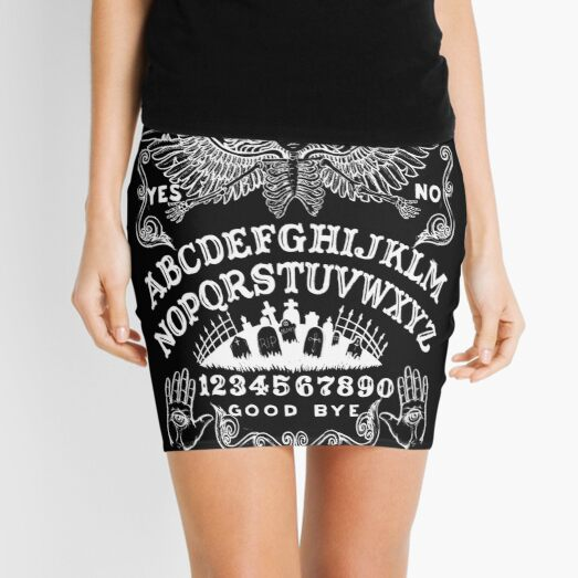 Angel of Death Witch Board Mini Skirt
