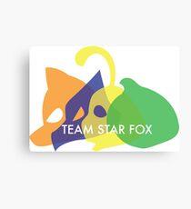 Team Star Fox Canvas Print