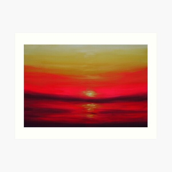 Towards the Sun Art Print