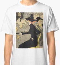 Divan Japonais by Henri de Toulouse-Lautrec Classic T-Shirt