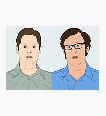Tim and Eric Photographic Print