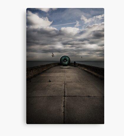 Brighton's doughnut Canvas Print