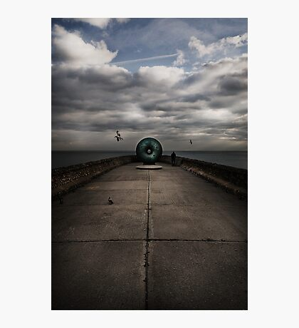 Brighton's doughnut Photographic Print