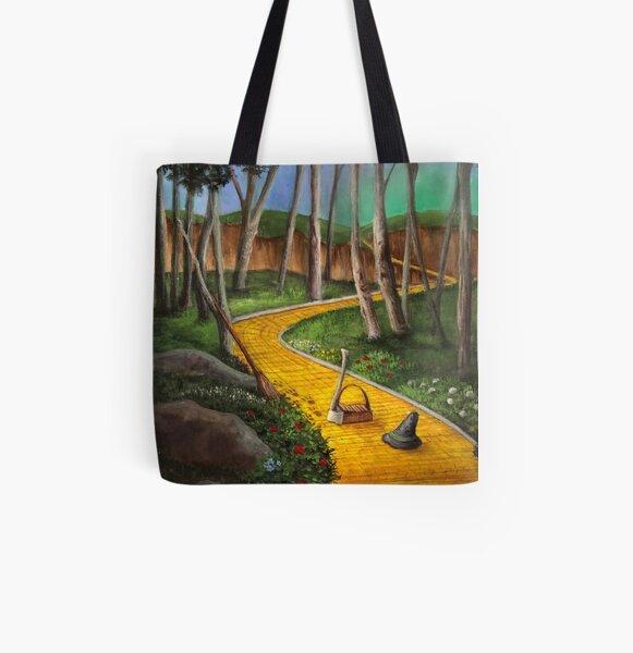 Memories Of Oz All Over Print Tote Bag
